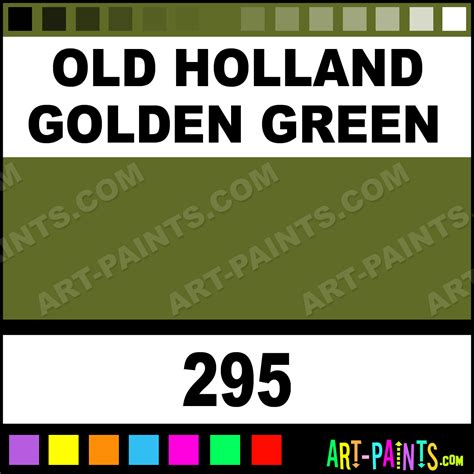 golden green classic paints 295 golden green paint