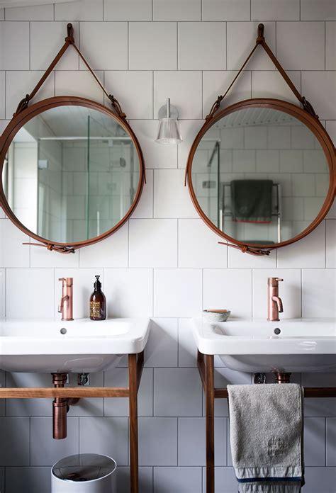 hanging bathroom mirrors trend per la casa su cerlovers