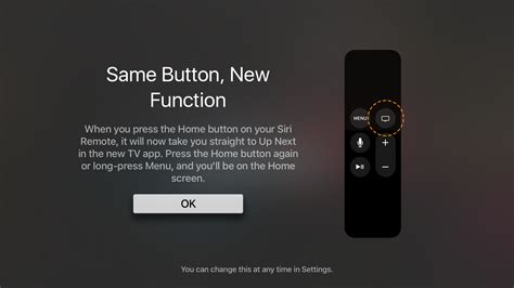 how to change the behavior of the home button on your