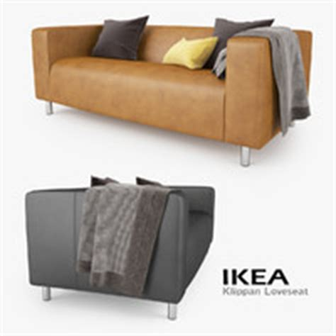 ikea klippan sofa dimensions 3d model loveseat klippan ikea