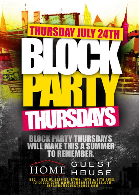 Block Party Flyer Template Summer Block Party Flyer Google Search Dni America Flyer Gallery Block Flyer Template Summer