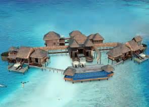Beach Bedroom Set 10 Overwater Bungalows Around The World Buzz Inn In