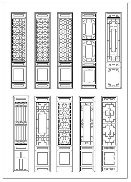 chinese window lattice drawing home designer shop