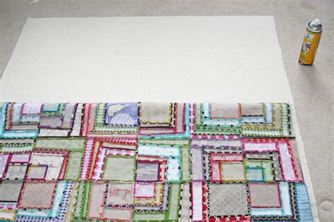 Glue Basting A Quilt by Spray Adhesive For Quilt Basting A How To By