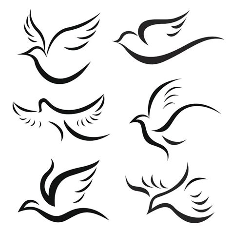 dove tribal tattoo designs 18 dove designs