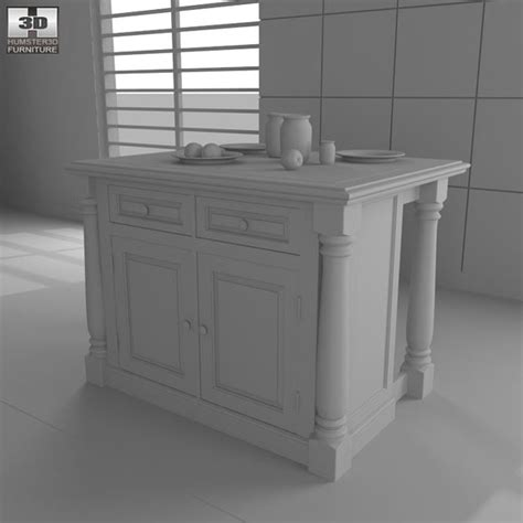 monarch kitchen island home styles by humster3d 3docean