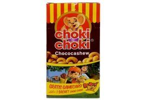 Choki Choki Chococashew choki choki chococashew with cashew nut 20 ct 11 2oz 8996001370063