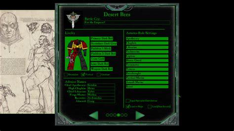 chapter master  game alpha warhammer  eternal
