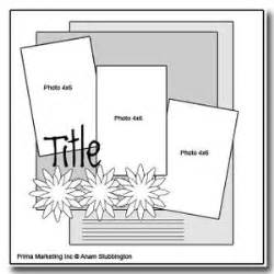 sketch album scrapbooking 349 best images about scrapbook pages single page sketch