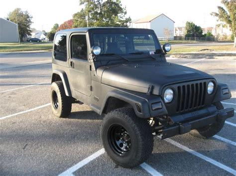 jeep matte black matte black jeep wrangler rides
