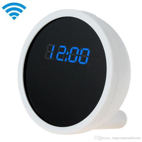 wf m1 p2p wifi alarm clock mini rechargeable clock wifi clock hd 1080p wifi