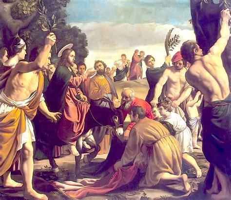 imagenes de jesucristo en jerusalen entrada triunfal de jes 250 s en jerusal 233 n pedro de orrente