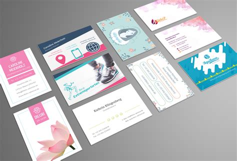 Visitenkarten Design Vorlagen Design Vorlagen F 252 R Visitenkarten Sofort Lieferbar Versandkostenfrei Terrashop De