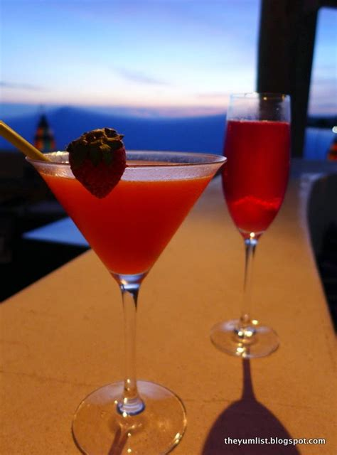 Happy Hour Project 3000 Syrah by Di Mare Restaurant Karma Kandara Bali Indonesia Best