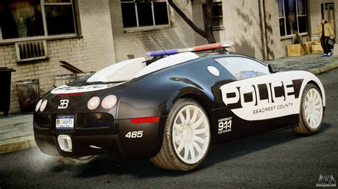 police bugatti bugatti veyron 16 4 police nfs pursuit for gta 4