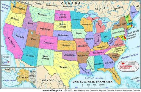 usa map show states arielcommunityacademy social studies