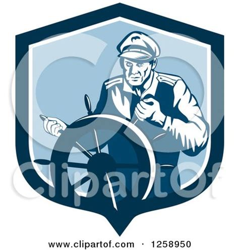 boat steering wheel emoji royalty free rf clipart illustration of a captain