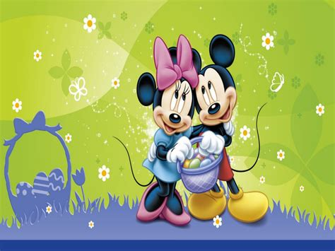 disney easter wallpaper desktop mickey mouse easter desktop wallpaper wallpapersafari