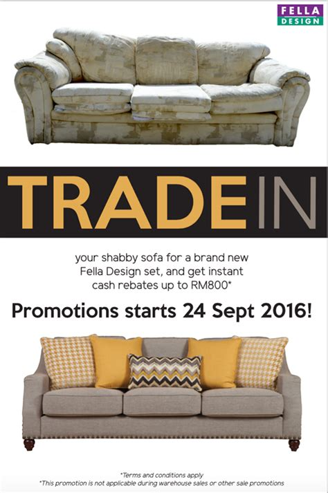 trade sofas fella design trade in old sofas get instant rebate up to