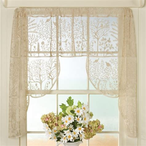 lace curtains irish curtain lace valances window treatments irish tiers french