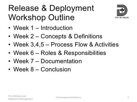 release management roles and responsibilities 10 tasks for the configuration managers define