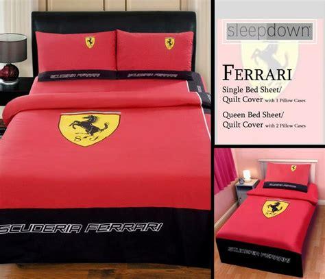 ferrari bed ferrari single bed sheet set rs 1 000 single quilt cover
