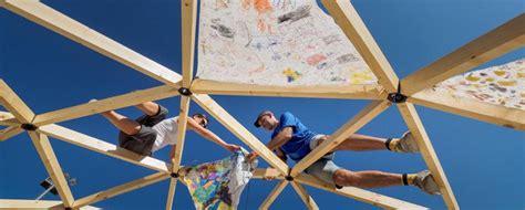 come costruire una cupola geodetica bioedilizia come si costruisce una cupola geodetica