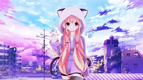 wallpaper for pc anime deviantart more like a simple purple day anime