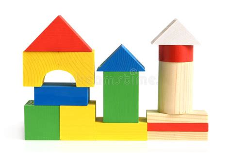 Tme Disigner Lovezi Building Blocks house made from children s wooden building blocks stock photo image of construction