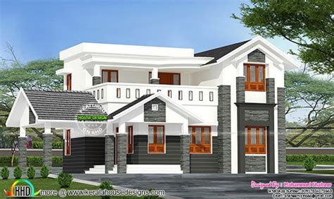 design engineer kerala 2200 sq ft modern kerala home possible house designs