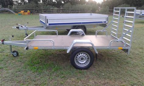 cerco carrello porta auto usato carrello auto 750 kg nuovo porta moto a pisticci