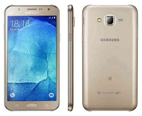 Handphone Samsung J7 Second samsung intros galaxy j7 and j5 with front facing