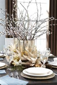 Silver And White Christmas Table Centerpieces - d 233 coration de table de no 235 l pour une atmosph 232 re magique
