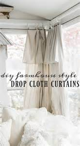 1000 ideas about diy curtains on drop cloth