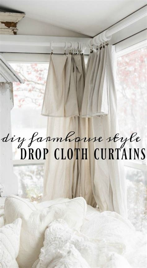 Easy Way To Hang Curtains Decorating 1000 Ideas About Diy Curtains On Pinterest Drop Cloth Curtains Curtain Rods And Curtain Ties