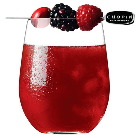 red cocktails chopin red wine cocktail recipe
