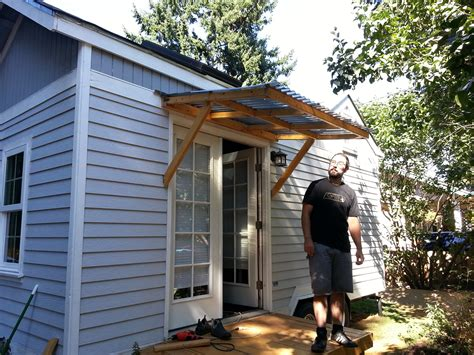 small awning over back door how to build awning over door if the awning plans plans