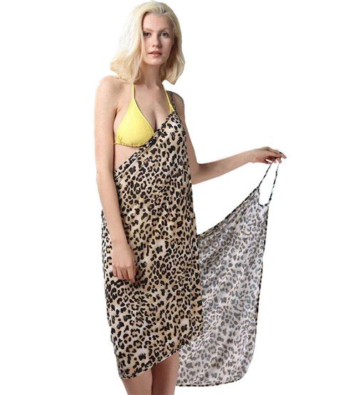 Leopard Print Summer by Buy Fascinating Backless Style Adorable