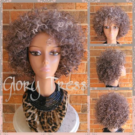 grey kinky hair for braids silver fox kadenyi yimbiha kinky hair with gray ready to ship big kinky curly gray