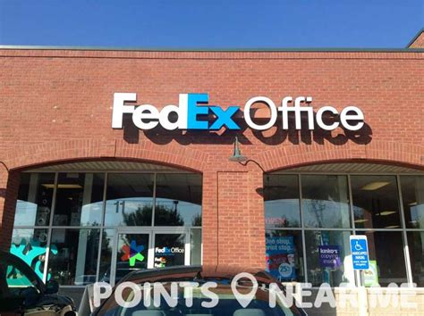 fedex office near me points near me