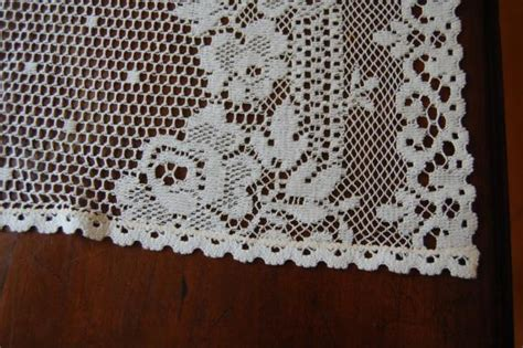 rue de france curtains 6 vintage rue de france country lace cafe curtains unused