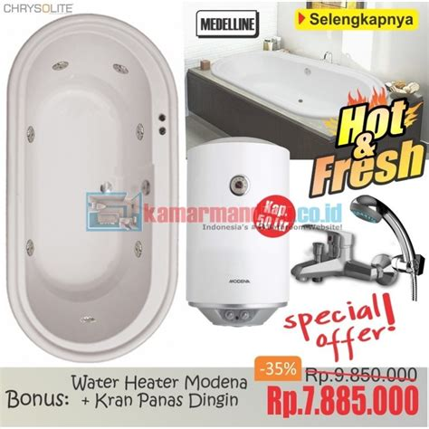 Water Heater Kamar Mandi bathtub medelline water heater modena 50 l distributor