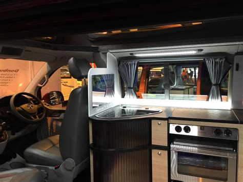 how to install tv in car tv install under side shelf cupboard vw t4 forum vw t5