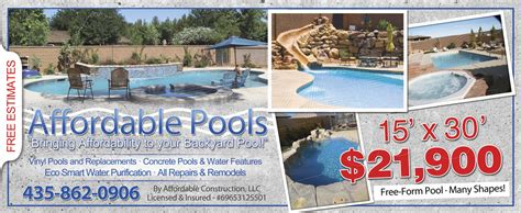 Pools For Backyards March 2012 Affordable Pools
