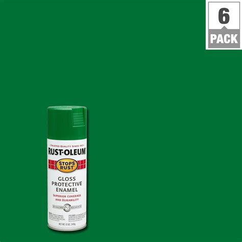 spray paint emerald city rust oleum stops rust 12 oz gloss emerald protective