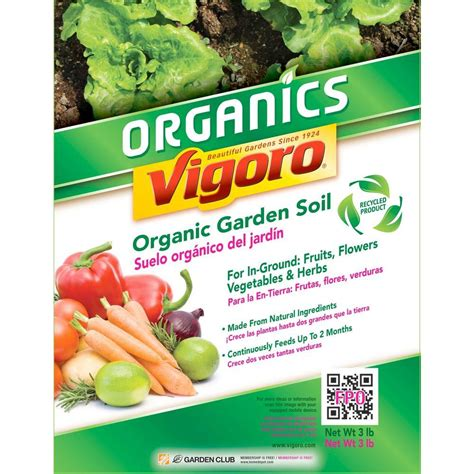Vigoro Organic Garden Soil by Vigoro 1 5 Cu Ft Organic Garden Soil 73159920 The Home