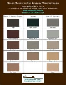 mid century modern paint colors eichler paint colors mid century modern paint and stain
