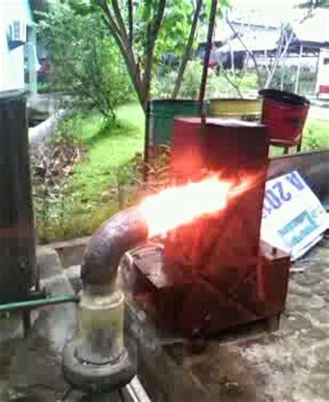 Kompor Blower burner kompor oli bekas boiler bogor