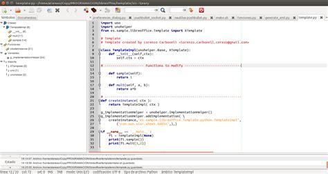 como crear tu propio complemento para libreoffice en ubuntu