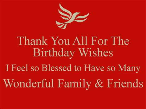 Thank You For Wishing Me A Happy Birthday Thank You All For All Your Birthday Wishes Blog